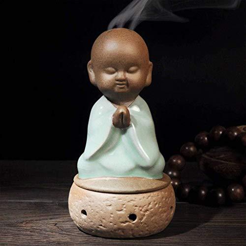 Sculptuur ambachten Decoratie Creatieve Kleine Monnik Censer Kleine Saini Parfum Chinese Wind Zen Decoratie Home Decoratie