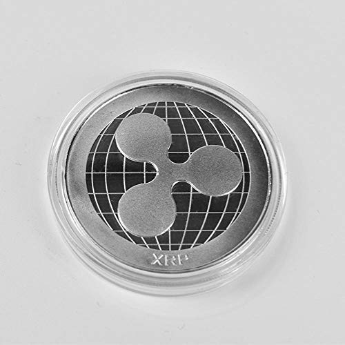 N O Hot 1PC Ripple Coin XRP Crypto Commemorative Ripple XRP Coin-Silver Ripple