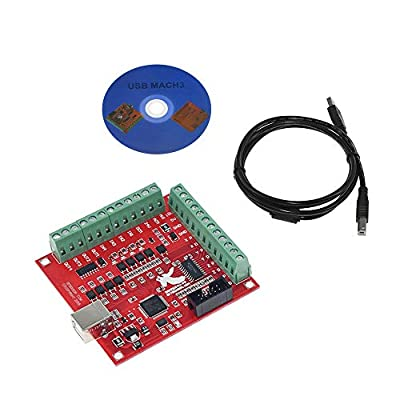 ILS - Super USB Interface MACH3 100Khz Break Out Board 4 Axis Interface Driver Motion Controller 3D Printer CNC Board