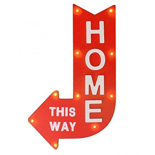 trendaffe  This Way Home Decorar lámpara–Lámpara Decorativa, Luz
