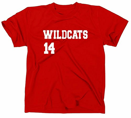 HSM 1/2/3 Wildcats 14 Men's T-shirt, Fan manches longues homme Small rot