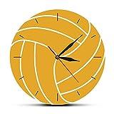 yaoyao Reloj de Pared Lotus Pose Tree Reloj de Pared Decorativo Arte de Pared Árbol de la Vida Reloj de Pared Impreso Colorido para Dormitorio Cocina Sala de Estar Regalos Escolares