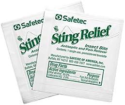 Safetec Sting Relief Wipe (48/Box)