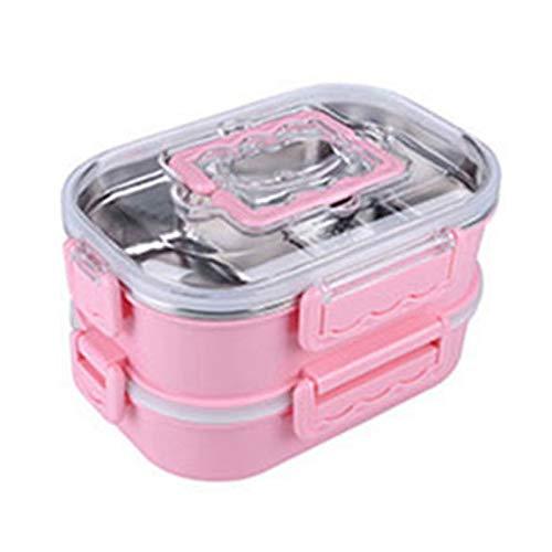 Foshuo Stil Bento Boxen Natürliche Brotdose Picknick Camping Sushi Snack Food Früchte-Mittag- und Abendessen und mehr Isolierte Lunch Bag Sandwich Box Brotdose Besteck