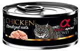 Alpha Spirit Feline Adult Sterilised Pollo Lata 85Gr 85 g