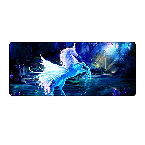 ZNNBH XXL Gaming Mouse Pad Large 900x400mm Fabric Extended...