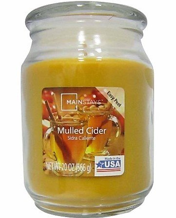Mainstays 20 oz Candle, Mulled Cider