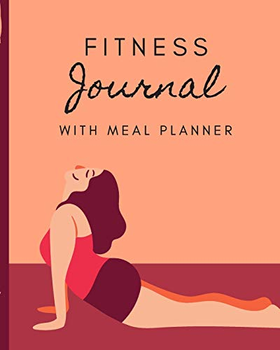 Fitness Journal With Meal Planner: Set Goals Notebook   Track Your Progress   Celebrate Victories   Toss it in a Gym Bag   New Year Resolution Diary   Gym Training Log   Dieting