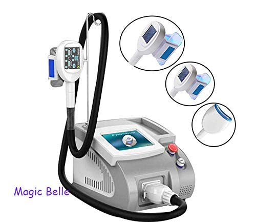 Body Cryolipolysis Vacuum Fat Freeze for Body Shaping, Fat Cell Reduction Therapy Cryolipolysis Lipo Freeze Slimming Machine with 3 Size Handles
