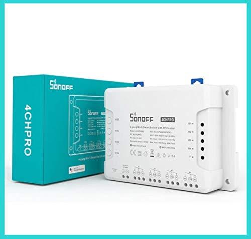 Sonoff 4ch Pro R3 interruptor conmutador wifi 4 canales