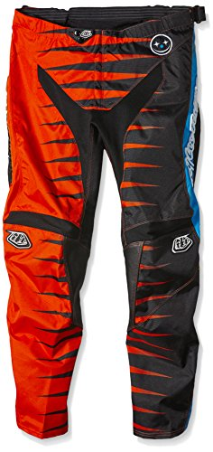 Troy Lee Designs Herren Troy Lee GP Joker Hose – Orange/Schwarz, Größe 36, 40