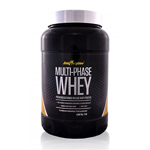 Big Man Nutrition Multi-Phase Whey Complejo de Proteínas, Cookies - 910 gr