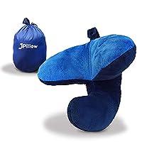 Einzigartiges, PiPE (Patent Angemeldet) Design. Unterfstützt und hält sanft Kopf, Nacken und Kinn - seitlich und vorne. Verhindert dass der Kopf während des Schlafes nach vorne fällt. Ergonomisch geformt um aufrecht zu schlafen. Vermindert Nackenstar...