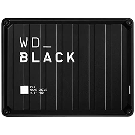 WD_BLACKP10 2TB Game Drive for On-The-Go Access To Your Game Library - Works with Console or PC