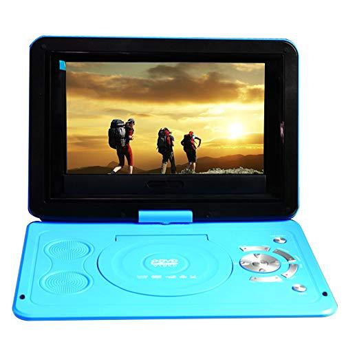 """Fayeille Lecteur DVD Portable 13,9""""avec écran pivotant LCD HD Prise en Charge de la réception TV, Lecture 3D, Lecteur de Carte intégré Radio FM, Batterie Rechargeable pour Enfants"""