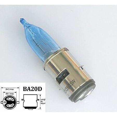 Ba20d 35 35w 12v Led Halogen Fernlicht Abblendlicht Scheinwerfer Birne Weiß Auto