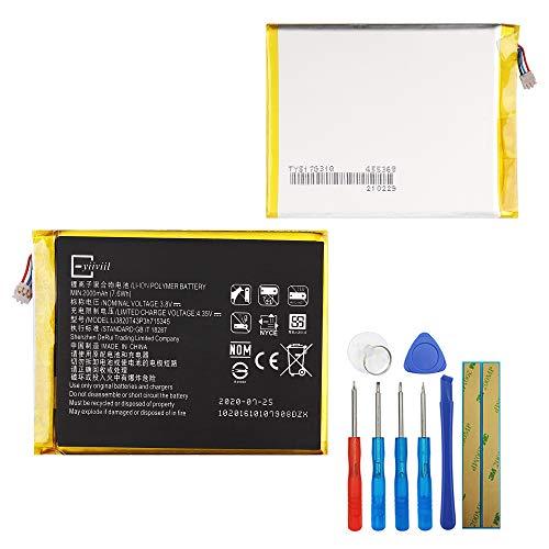 E-yiiviil Ersatzakku Li3820T43P3h715345 Kompatibel mit ZTE Grand S Flex ZTE MF910 MF910L MF910S 3.8V 2000mAh 7.6Wh with Tools