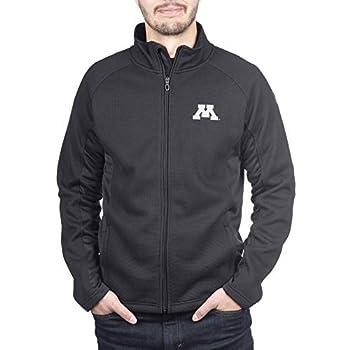 Spyder Minnesota Golden Gophers Men s Constant Full Zip Sweater Black Gameday Jacket Large