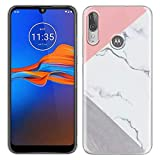 Pnakqil Motorola Moto E6 Plus Phone Case Clear Transparent