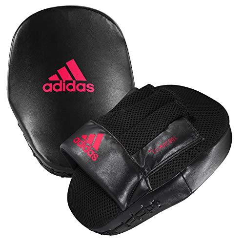 adidas Unisex– Erwachsene Speed Coach Mitts Pratzen, schwarz/rot, One Size