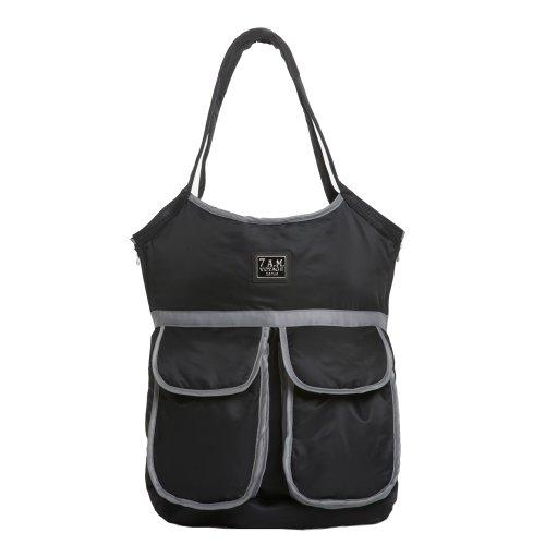 7 AM Enfant VB002-BKch Voyage Barcelona Bag, schwarz
