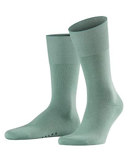 FALKE Herren Socken Airport - Merinowoll-/Baumwollmischung, 1 Paar, sage, 41-42