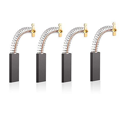 4 pezzi Spazzole per Carbone per Lavatrice, Spazzola per Motore 12,5 x 5 x 39mm, Compatibile con Tamburo Siemens EXTRA1550 / WM1850 / Silver4108 / 1095 Lavatrice Spazzola per Carbone 2205