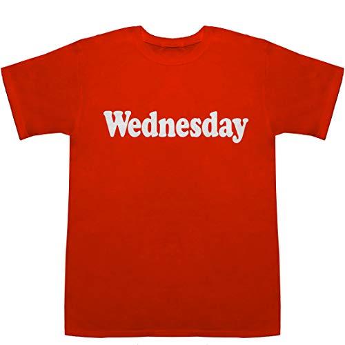 Wednesday T-shirts レッド L【水曜日 絵】【水曜日のカンパネラ e+】