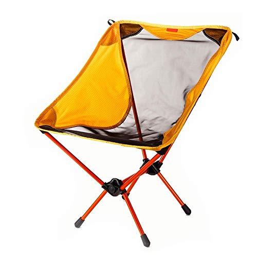 LHQ-HQ Silla de Camping al Aire Libre Plegable Silla de Aluminio de la aviación Ultra Ligero Portable de la Silla Simple for Acampar Barbacoa Pesca