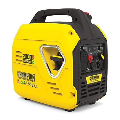 Champion Power Equipment 100900 2000-Watt Dual Fuel Inverter Generator, Ultralight