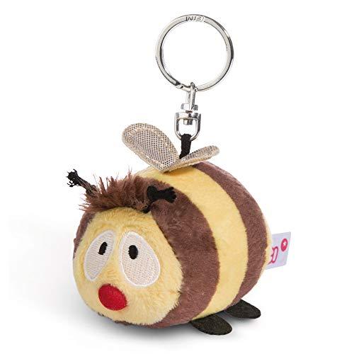 NICI Schlüsselanhänger Plüschtier Biene 10 cm – Biene Kuscheltieranhänger mit Schlüsselring für Schlüsselband, Schlüsselbund, Schlüsselhalter & Schlüsselkette – Taschenanhänger – 44478