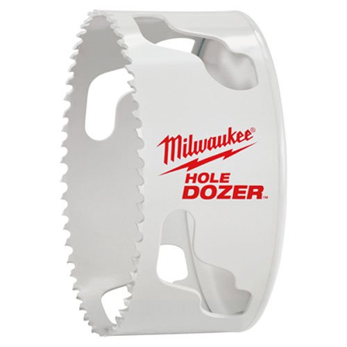 Milwaukee 45242193578sierra de corona Hole Dozer des perçages alta calidad, color blanco