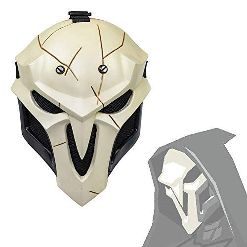 Halloween Mask Overwatch Reaper Gabriel Reyes Cosplay Mask Game Anime...