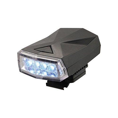 ETC Unisex Adult High Beamer 4 Fietslamp - Wit, N/A