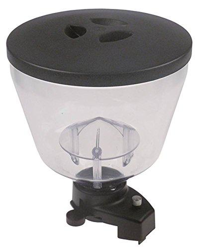 Mazzer Kaffeebohnenbehälter für Kaffeemühle KONY Höhe 240mm ø 208mm Aufnahme ø 57mm komplett