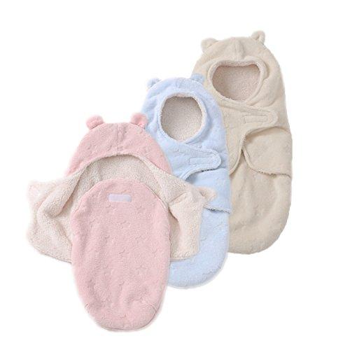 JASA kids Baby Schlafsack innen weich gefüttert Pucksack für Neugeborene zu jeder Jahreszeit verwendbar