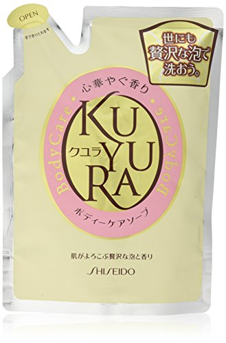 Shiseido KUYURA | Body Wash | Brilliant Fragrance Refill 400ml (japan import)