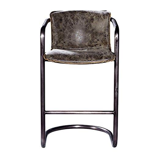 Barkruk barkruk industriële kruk barkruk barkruk barkruk ijzer hightech ijzer leer gastronomie barstoel in Amerikaanse stijl, gepersonaliseerde stool