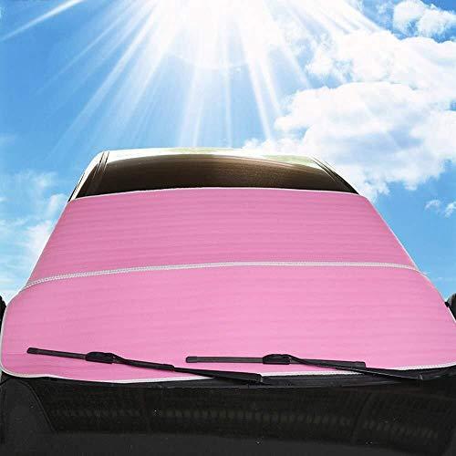 Qbylyf Sneeuwbescherming voor auto's Winter Voorruit Protector/Auto Voorruit Cover/Ultra Dikke Voorruit Magnetische Sneeuwhoes, Zonnescherm Beschermende Sneeuw IJs Frost UV Stof Waterbestendig