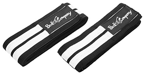 Bad Company Pro Kniebandagen Bandagen Powerlifting 2er Set (1 Paar) BC-89