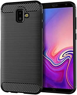 Samsung Galaxy J6 Plus soft case tpu all inclusive phone shell anti fall shockproof protective sleeve black cover
