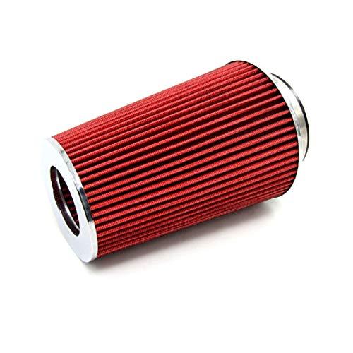 LFOZ Kits Universal Auto Carrera de automóviles de Carreras de automóviles Filtro de Aire Filtro de Aire de Filtro de Aire de 3'115 mm Cono de Filtro de Cono Rojo