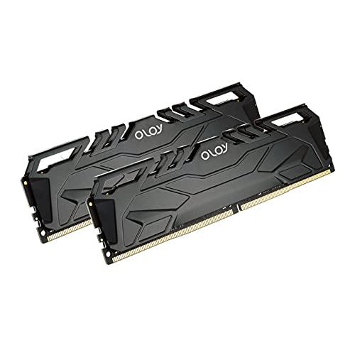 OLOy DDR4 RAM 16GB (2x8GB) 3600 MHz CL18 1.35V 288-Pin Desktop Gaming UDIMM (MD4U083618BJDA)