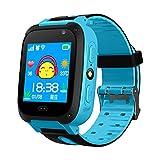 Reloj Inteligente para niños Rastreador GPS Monitor Anti perdido Llamada SOS Cámara Inteligente para niños Reloj para teléfono Pantalla de 1,44 Pulgadas
