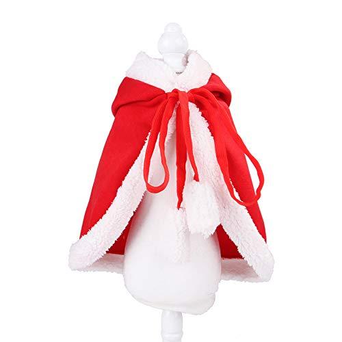 ETbotu Kerst decoraties, Grappige Huisdier Mantel voor Katten Kerstmis Halloween Cosplay
