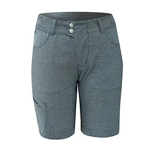 Chiba Baggy Pantalon avec pantalon intérieur Lady, anthracite/noir, xl