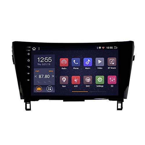 Android 8.1 Radio Para Automóvil Para Nissan X Trail Qashqai 2012-2018 Coche Estéreo GPS Navegación Táctil Pantalón Touch Player Doble Din Head Unit Support WiFi Control Del Volan(Color:4G+WIFi:2+32G)