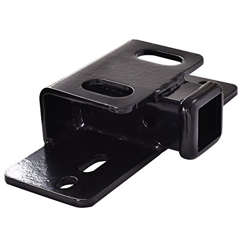 Goplus Step Bumper for 2' Receiver Hitch RV Trailer Truck, 5000 lb. Capacity