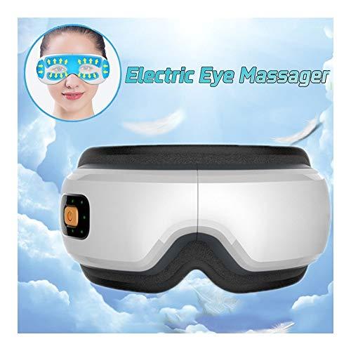 Preisvergleich Produktbild FLK-GBR Augenmassagegerât Anti Aging Elektrisches Augenmassagegerät mit Hitzekompression,  Luftdruck,  vibrierende Bluetooth-Funktion für Augentaschen,  Augenringe,  Augenermüdung,  trockenes Auge
