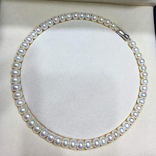 Novopus Halsketten  Perle   Sü sserperle Halsketten - Perle, Sü sserperle Klassisch, Natur, Elegant Weiß43 cm Modische Halsketten Für Party, Geschenk Weiß